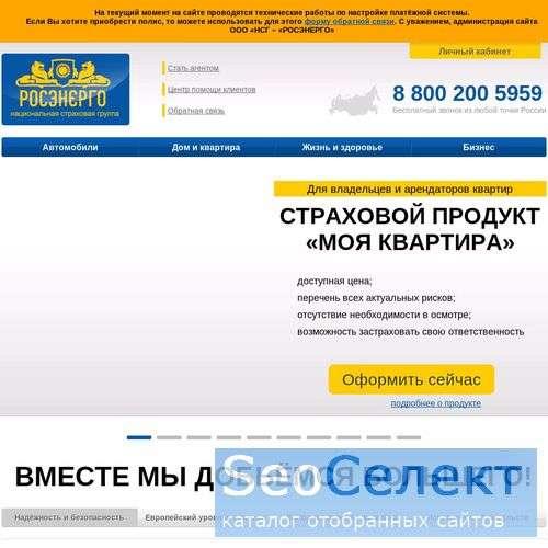 Национальная страховая группа РОСЭНЕРГО - http://nsg-rosenergo.ru/