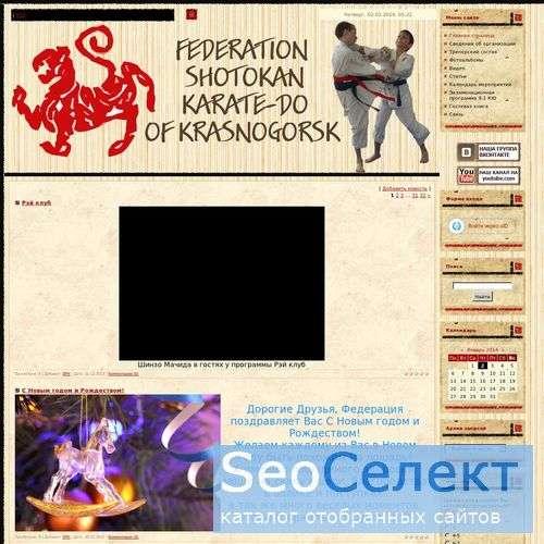 Карате шотокан и карате сетокан - приходите к нам! - http://www.karatek.ru/