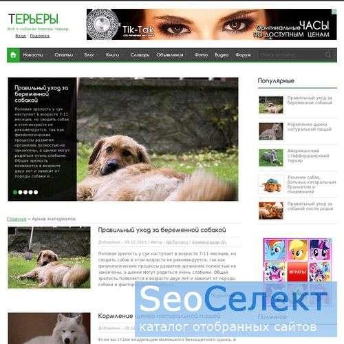 Терьертория - http://www.all-terriers.ru/