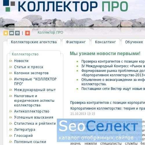взыскание долгов статьи - http://www.collectorpro.ru/