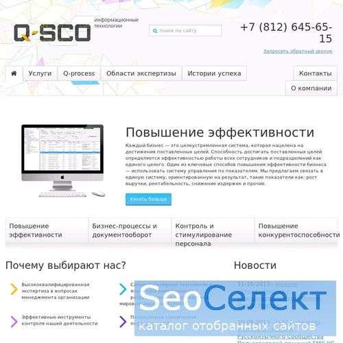 Разработка программного обеспечения - http://www.q-sco.ru/