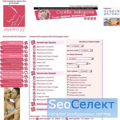 российский рейтинг сайтов знакомств