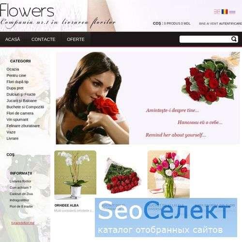 Livrare de Flori - Compania nr.1 in livrarea flor - http://livraredeflori.md/
