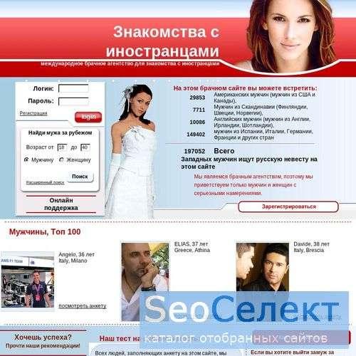 Лучшие сайты знакомств для иностранцев