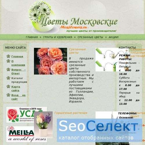 Цветы оптом - http://www.mosflowers.ru/